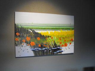 Latin American Art Painting Oil on Canvas Llanura Roberto Escalona