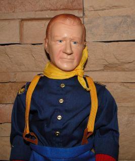This John Wayne Collection includes John Wayne Doll, John Wayne