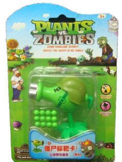 Plants Vs Zombies PVZ Kids game Gatling Pea shooter Toy popcap