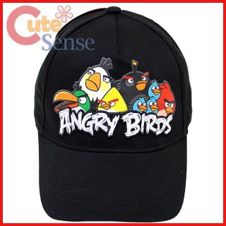 Angry Birds Youth Baseball Cap Kids Hat   Assorted Birds Cotton