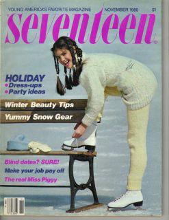 Phoebe Cates Seventeen Magazine 11 80 Evonne Goolagong
