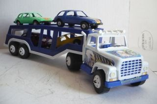 Mexican Pacer Car Carrier Truck Plastic toy Car Made In Mexico