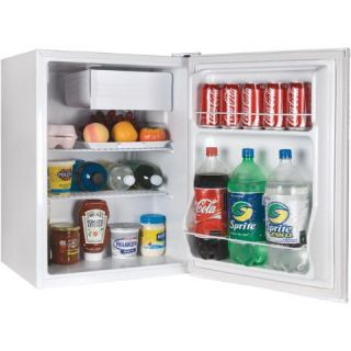 ECR27W 2 7 Cubic ft Energy Star Refrigerator Freezer White