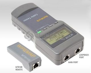 CAT5 RJ45 Network Cable Tester Meter Length SC8108 Q873