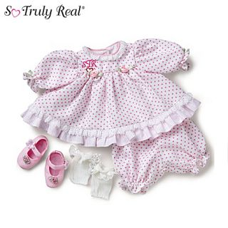 So Truly Real Baby Doll Clothing Going to Grandmas Outfit by Ashton