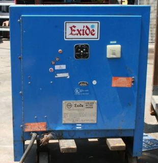 Exide Forklift Battery Charger NPC12 3 1050L 24V