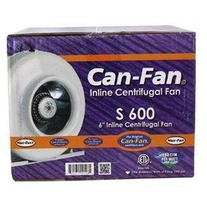 Can Fan 6 S600 Centrifugal Inline Fan   exhaust blower scrubber vent