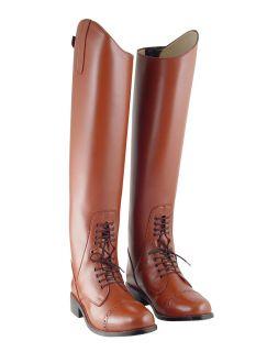 VF Ladies Field Boots Tall English Riding Tan Wide