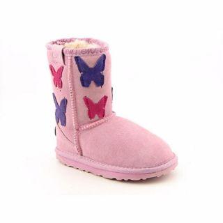 Emu Australia Mila Lo Kids Infant Baby Girls Size 9 Pink Boots Winter