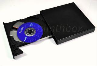USB 2 0 Laptop PC External Slim Optical DVD ROM Drive New