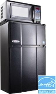 9MF 7TP 2 Door Refrigerator Freezer Microwave Energy Star Rated