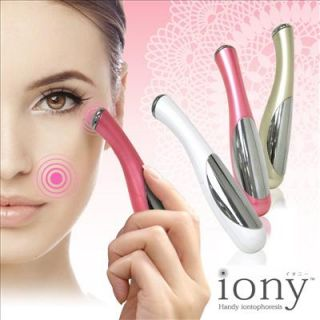 ion Face Care Electric Handy Iontophoresis Massage Machine Iony