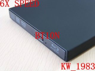 LG BT10N 6X Blu Ray Writer USB External Slim DVD Drive