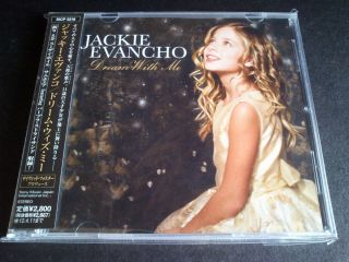 SCARCE JACKIE EVANCHO DREAM WITH ME 2011 JAPAN PROMO SAMPLE 14 TRACK
