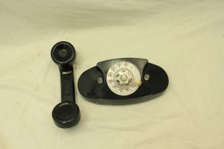 Bell/Western Electric Princess Rotary Dial Telephone Black 702BM 4 76