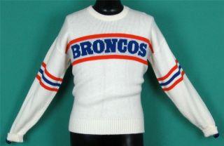 DENVER BRONCOS vintage 80s CLIFF ENGLE sweater jersey sweat shirt NFL