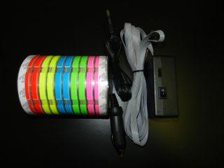 LED Equalizer Bar Sound Activated LED Light Show Neon Light Sticker