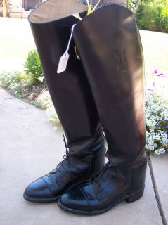 Equestrian Horse Riding Boots Effingham by Bond Size 5 M Gently Used