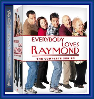 Everybody Loves Raymond Complete HBO Series 1 9 Discs Brand New DVD