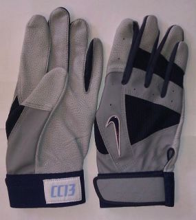 CRAWFORD PE BATTING GLOVES GAME ISSUED NIKE XXL BOSTON RED SOX RAYS