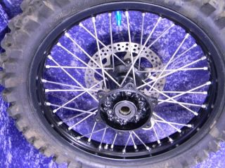 YZ250 Excel Wheel Black Rim Front Rear Set 2000 2008 YZ125 YZ250F