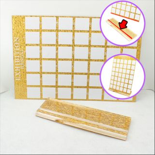 Nail Art Exhibition Stand Board Demo Display Tool for Tips Practice