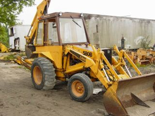 Case 580 B 580B Loader Backhoe Tractors Shop Service Repair Manual CK