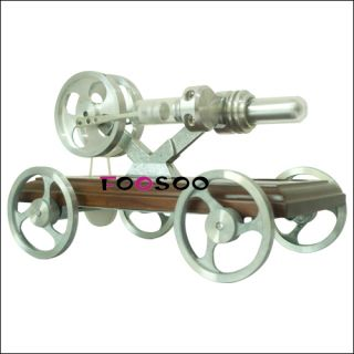 Hot Air Stirling Engine Car Vehicle Funny Educational Teaching Toy