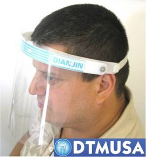 Dental Medical Face Shield with Flip Up Visor New