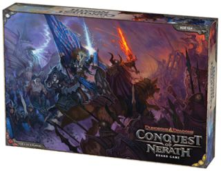 Dungeons Dragons Conquest of Nerath Board Game WOC33806 Wizards of The