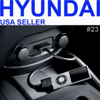 NEW HYUNDAI FACTORY OEM iPOD iPHONE ADAPTER CABLE