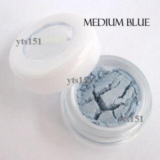 Eye Shadow Powder Makeup Pigment Mineral Eyeshadow Mediumblue B044