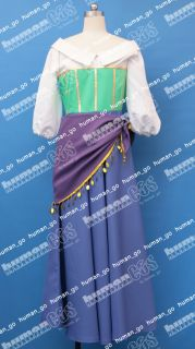 Esmeralda Cosplay Dress Costume Size M Human COS
