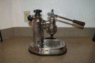 La Pavoni Espresso Coffee Press Machine for Parts or Repair