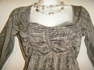 Womens Medium Maternity Top Christmas Holiday New w Tag Shirt Empire