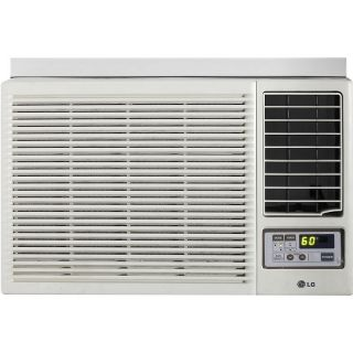 LG LG 12,000 BTU Window Mounted Air Conditioner with Supplemental Heat