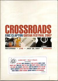 Eric Clapton 2 DVD Live Crossroads Guitar Festival New
