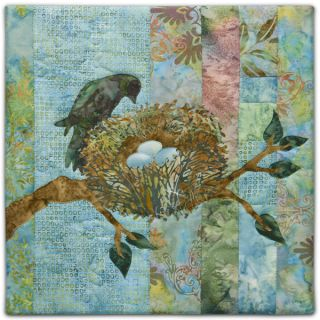 McKenna Ryan Pine Needles Promise Bird Nest Block 5 Quilt Pattern