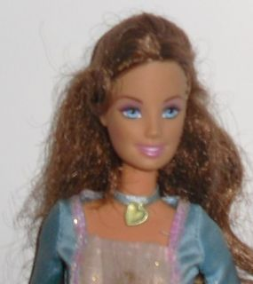 Barbie Doll Princess Pauper Erika Singing w Gown