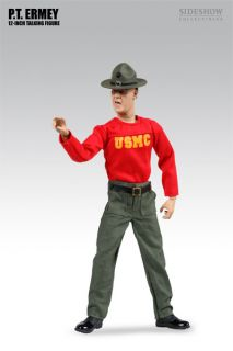 Scale 12 Talking Marine Figure PT USMC Gunnery Sgt R Lee Ermey