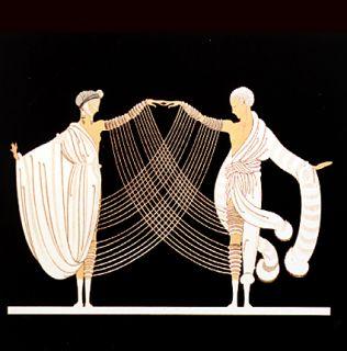 Erte   Wedding Dance   Love and Passion Suite   LE   Art Deco CXLIII