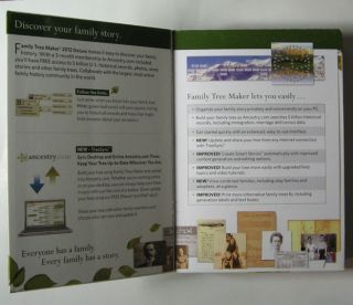 Brand New Ancestry com Family Tree Maker Deluxe 2012 Windows Software