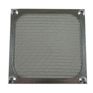 12cm 120mm High Quality Aluminum PC Fan Filter Silver
