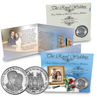 134 503 coin collector prince william and kate silver plated