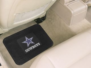 PC Heavy Duty Vinyl Utility Rear Car Floor Mats by Fan Mats