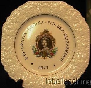 Lord Nelson Pottery Elizabeth Jubilee Plate Crazing