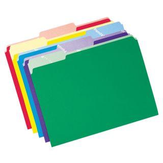 Pendaflex 84270 Esselte 12 Pack Assorted Colors File Folders w
