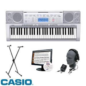 Casio CTK 4000 61 Key Keyboard Software Stand Headphones Power Supply