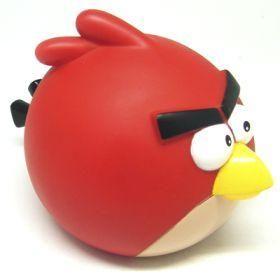 New Angry Birds Vinyl Toys Red Bird Piggy Bank Money Coin Box