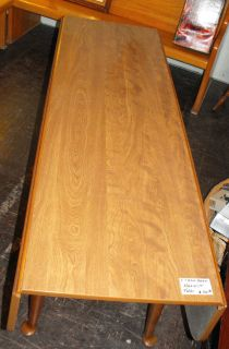 ETHAN ALLEN 66 LONG HARVEST TABLE SOFA TABLE DROP LEAF HEIRLOOM